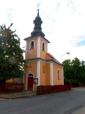 Štěpánov-Březce, kostel sv. Jana Nepomuckého