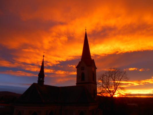 Sv. Ondřej za klekání / Kostel Sv. Ondřeje Starý Kolín / Autor fotografie: Blanka Lísková