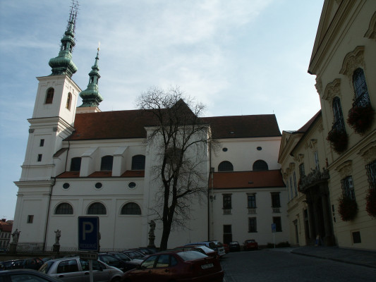kostel sv. Michala v Brně / kostel sv. Michala v Brně