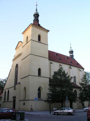 025 Praha 1 Staré Město, kostel sv. Haštala