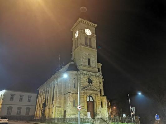 Žatec evangelický kostel