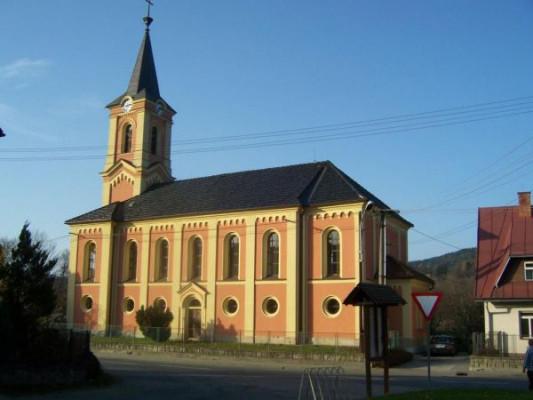 Huslenky, evangelický kostel / Huslenky, evangelický kostel