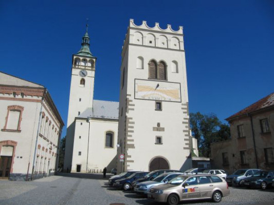 Lipník nad Bečvou, kostel sv. Jakuba