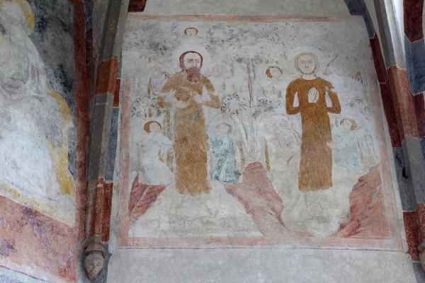 Cetviny freska