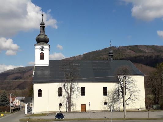 Kostel sv. Jana Nepomuckého / Autor fotografie: Judita Foldynová