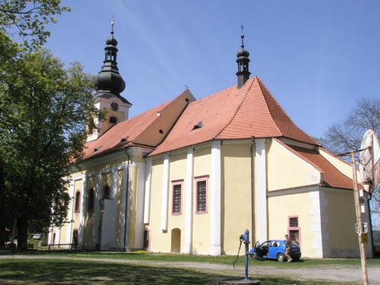 kostel Panny Marie Sněžné / Jihovýchodní pohled