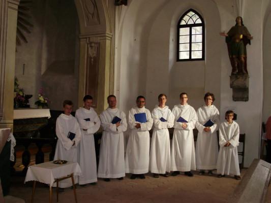 Jemnice, kostel sv. Víta