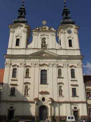 Uherské Hradiště, kostel sv. Františka Xaverského