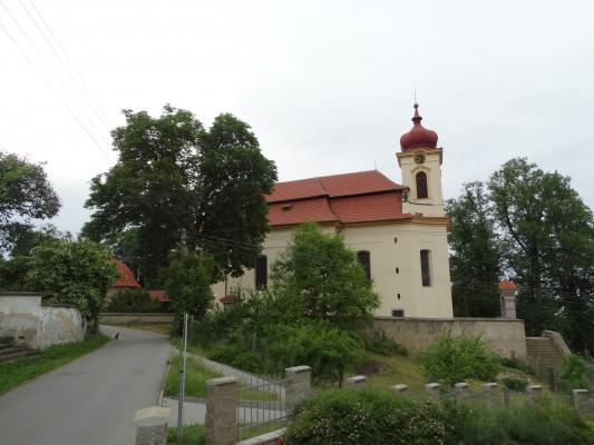 Kostel sv. Mikuláše Jince / Autor fotografie: Jitka Kadeřábková