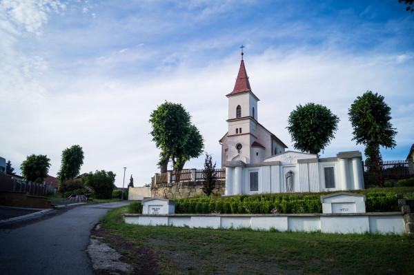 kaple Nanebevzetí Panny Marie / Autor fotografie: Klára Scholleová