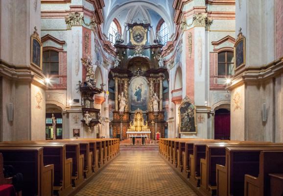 Interiér kostela - na web / Autor fotografie: Martina Řehořová