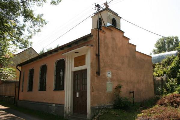 Evangelický kostel Horní Slavkov / Foto kostela