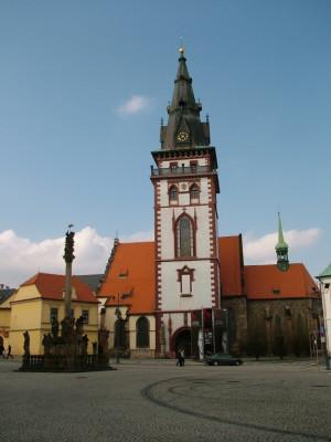 Chomutov, kostel Nanebevzetí P. Marie