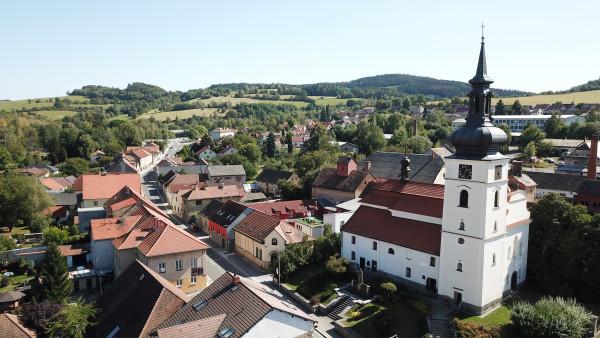 Votice, kostel sv. Václava