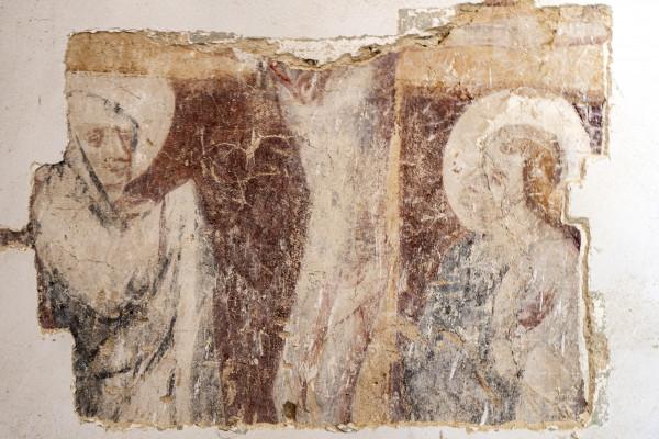 kostel Vysoká / 10 dnů objevené gotické malby