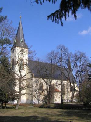 Poděbrady, kostel Povýšení sv. Kříže