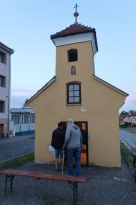 Kroměříž-Štěchovice, kaple sv. Floriána