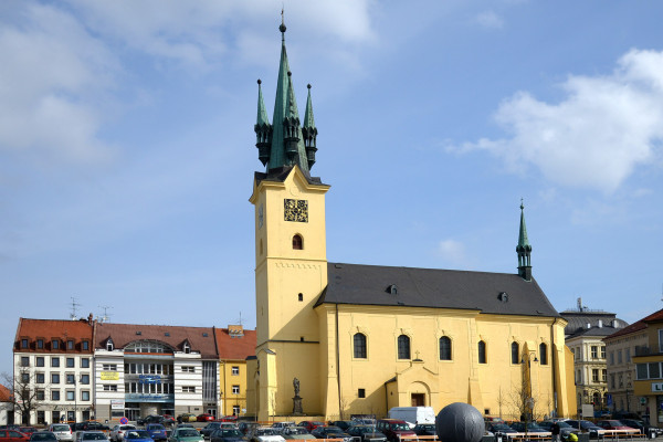 Příbram I, kostel sv. Jakuba Staršího