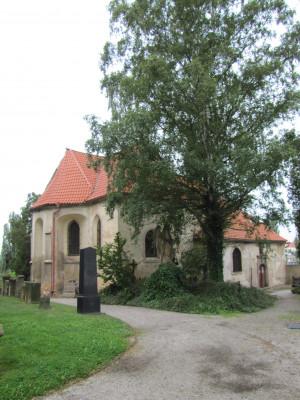 kostel sv. Mikuláše / exteriér