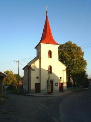 Víceměřice, kostel sv. Floriána / Víceměřice, kostel sv. Floriána