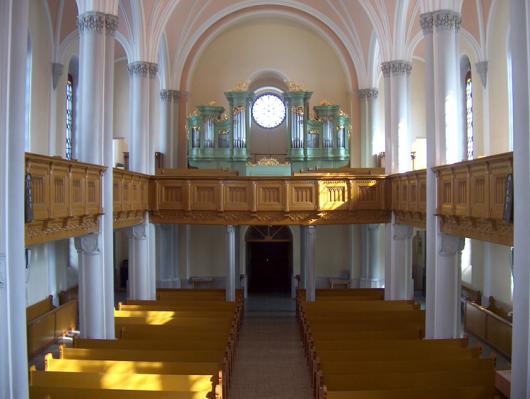 Střítež nad Bečvou / evangelický kostel