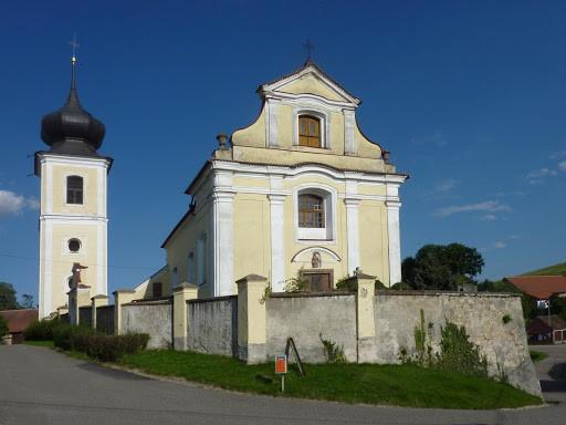 Okrouhlice u Benešova  / Kostel sv. Vavřince