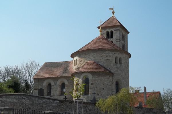 Praha - Přední Kopanina, kostel sv. Maří Magdalény