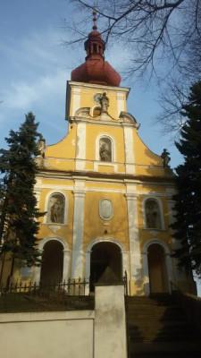 Tištín, kostel sv. Petra a Pavla / Tištín, kostel sv. Petra a Pavla