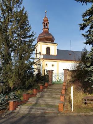 Běstovice, kostel Všech svatých