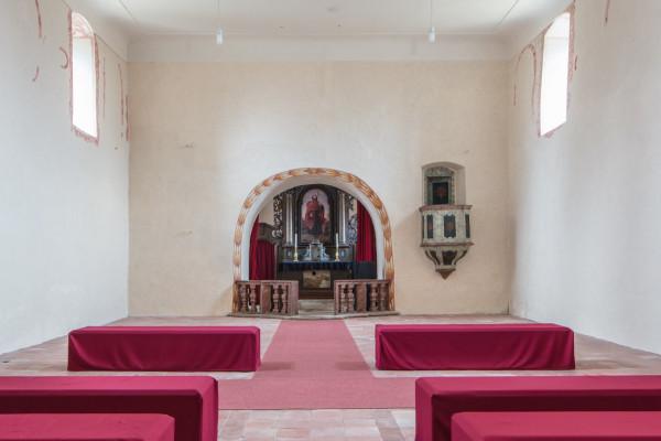 Kostel sv. Jakuba / Interiér