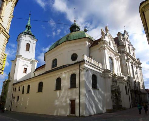 minoritský kostel sv. Janů