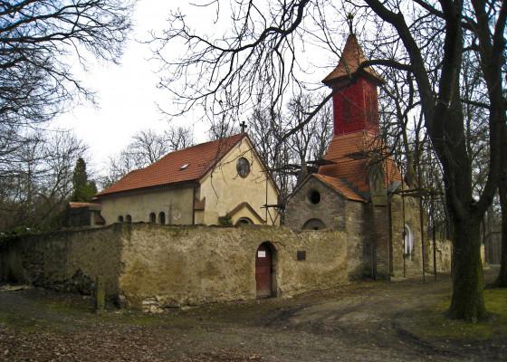 kostel sv. Jana Křtitele, Kladno - Dříň