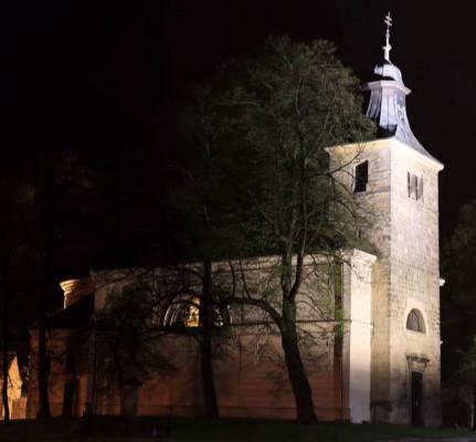 Kounice, kostel sv. Jakuba Většího