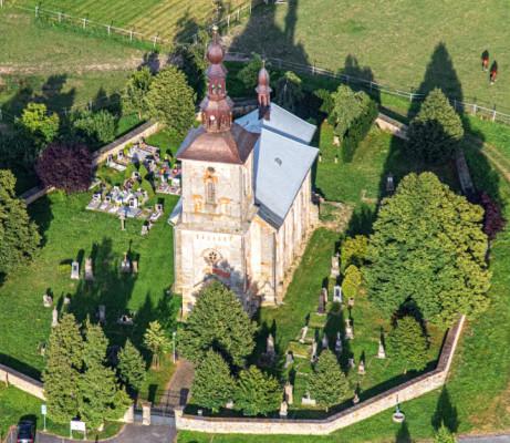 Litíč, kostel Nejsvětější Trojice