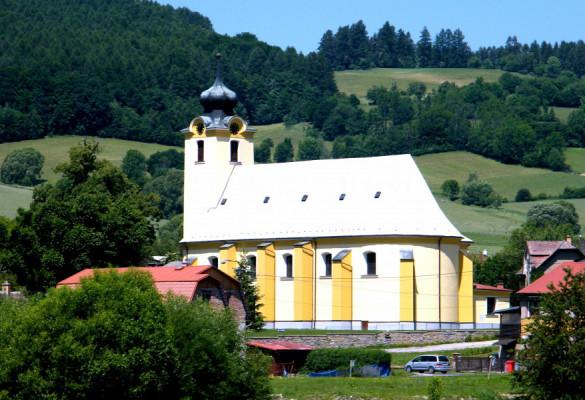 kostel sv. Vavřince v Rudě nad Moravou