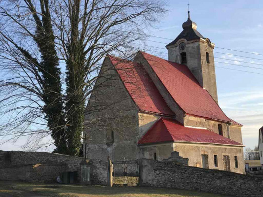 Neposkvrněného  početí P. Marie v Horní Řasnici / Kostel patří k nejzachovalejším sakrálním stavbám 2. pol. 13. stol.