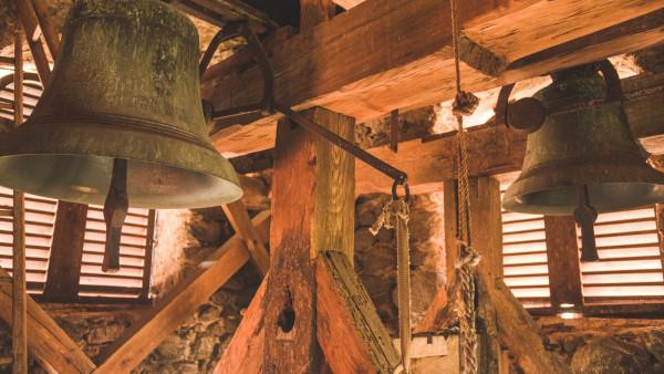 Olbramovice, věž kostela