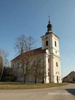 Vyškov-Dědice, kostel Nejsvětější Trojice / Vyškov-Dědice, kostel Nejsvětější Trojice