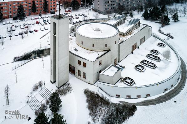 Komunitní centrum Matky Terezy  / foto zima 2019 - lidé a víra - Jakub Šerých  / Autor fotografie: Lidé a víra - Jakub Šerých