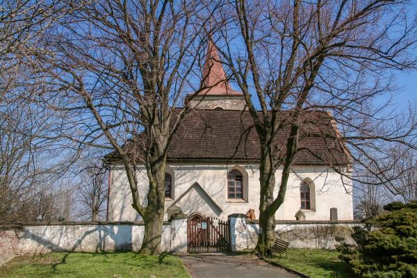 kostel Vysoká / vstup / Autor fotografie: Roman Šulc