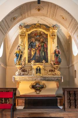 Chvatěruby, Kostel sv. Petra a Pavla / interier