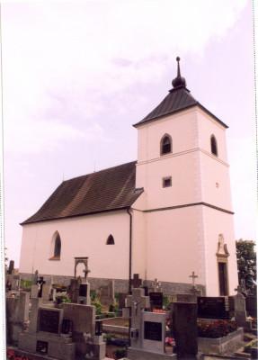 Vysoké Studnice, kostel Nejsv. Trojice