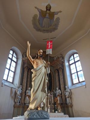 Ostravice-kostel Nejsvětější Trojice