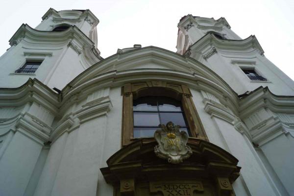Lechovice, kostel Navštívení Panny Marie