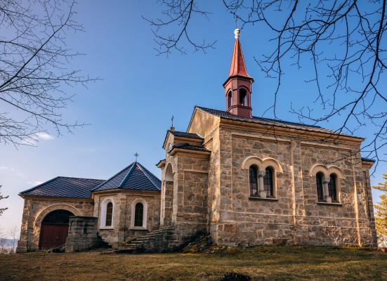 Kaple Maria Rast am Stein