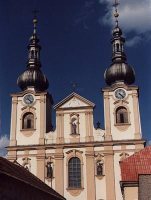 kostel Nanebevzetí Panny Marie v Kojetíně