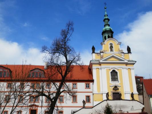 Kadaň - kostel Sv. Rodiny