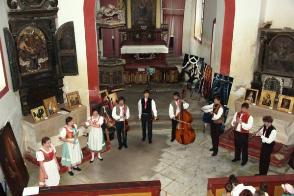 Noc kostelů 2016 / Koncert Chrlis - lidový soubor