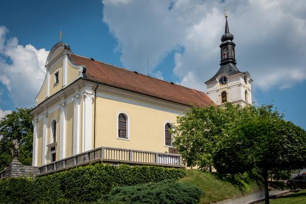 Olešnice na Moravě, kostel sv. Vavřince