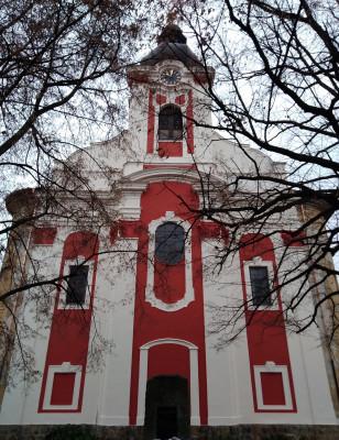 Foto kostela / východní průčelí kostela